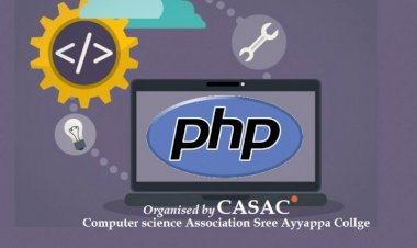WORKSHOP ON PHP ORGANIZED BY CASAC ON 15/10/2018